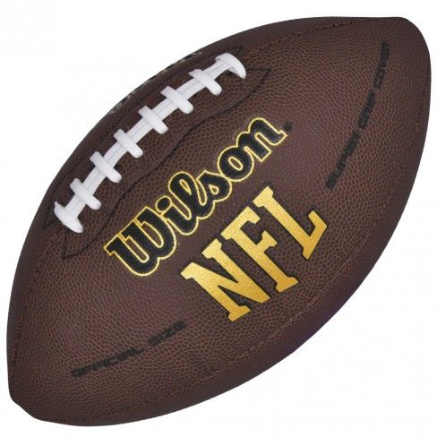 Bola Wilson Futebol Americano Super Grip   Loja Wilson   Botoli Esportes - Marrom/Marrom