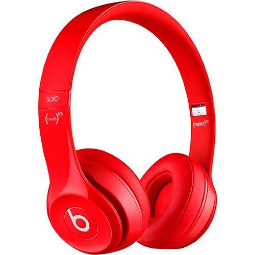 Fone de Ouvido Over the Ear Solo 2 Vermelho - Beats by Dr. Dre - Submarino.com