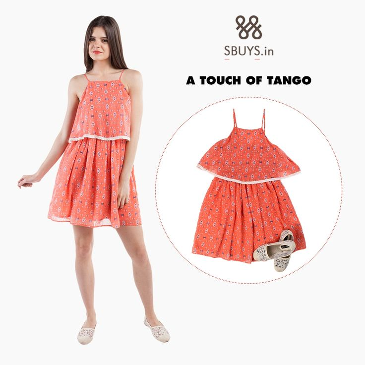 #Aztec #printdress that gives a touch of #tango >>> http://www.sbuys.in/sbuys-aztec-print-dress.html