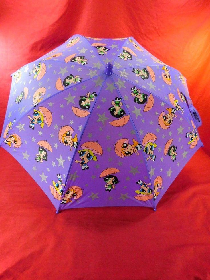 2001 Powerpuff Gilrs Buttercup Umbrella Powerpuff Girls Cartoon Network
