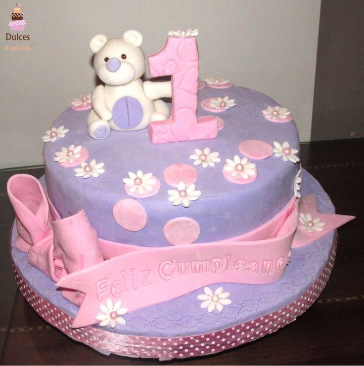Torta Primer Añito #TortaPrimerAño #TortasDecoradas #DulcesKaprichos