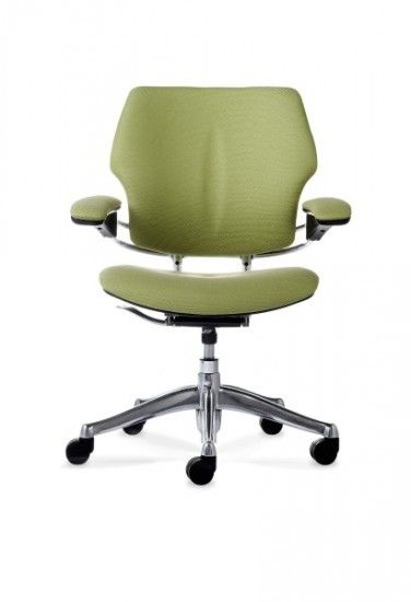 The Humanscale Liberty task chair features a revolutionary counter-balance mechanism, based around movement. Your body weight automatically balances the force required to recline the chair seated.com.au #seated #liberty #specialty #leather