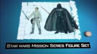 star wars mission series figure set - YouTube