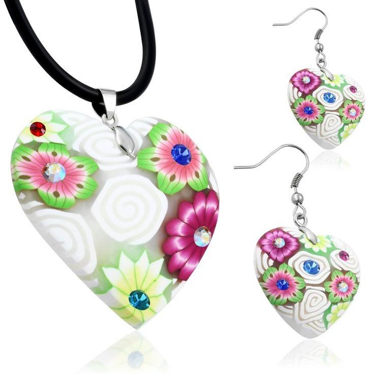 Dámský náhrdelník a náušnice