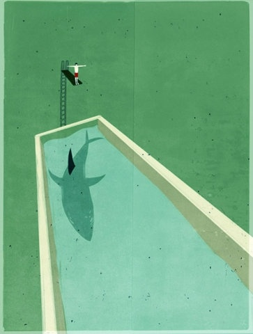 What I feel like when I jump into a pool with no one there ahahaha