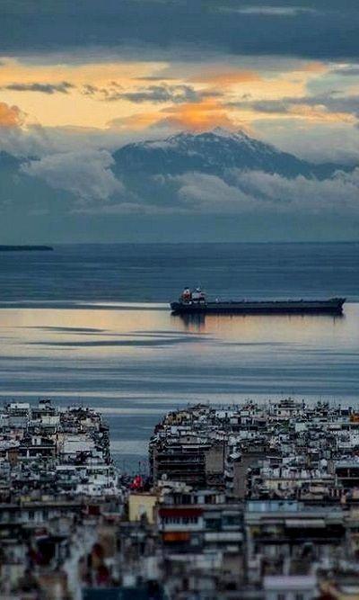 Thessaloniki, Greece. I' m here now Aug 2015