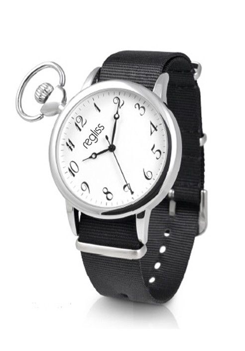 Metal man watch Renzo with leather strap MADE IN ITALY Shop now on www.dezzy.it