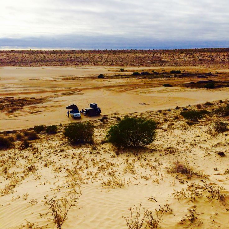 Our Camp Site - Simpson desert
