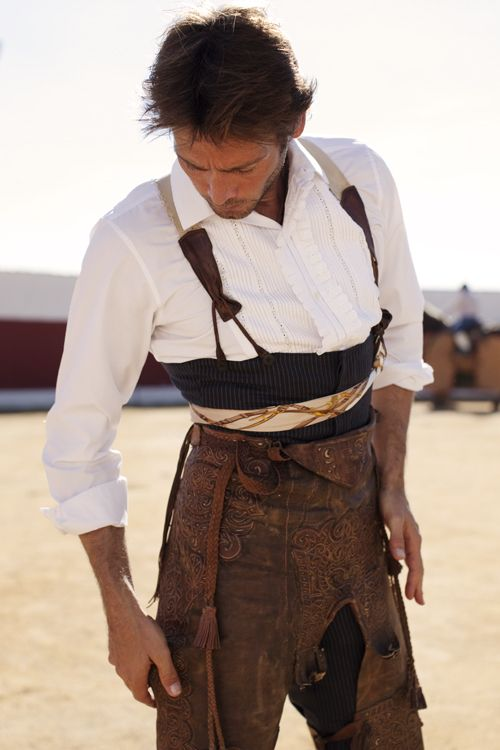 The Matador: Sebastián Palomo Danko photographed by Scott Schuman in Madrid, Spain