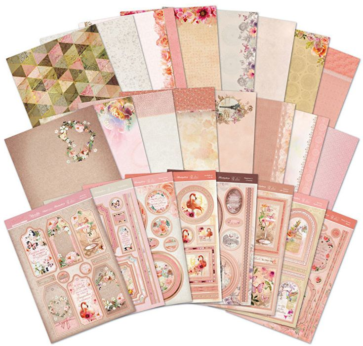 Hunkydory Rose Gold Moments Topper Collection by Hunkydory Crafts (4012785)