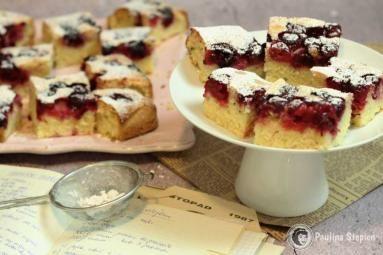 Zdjęcie: Ciasto z owocami i olejem babci Ani