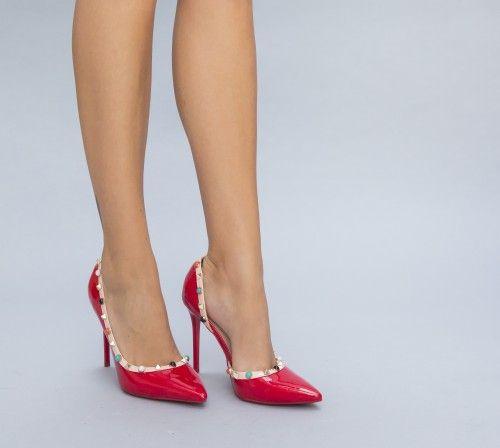 Pe Bazar-net.ro un magazin online de reduceri si oferte gasesti: Pantofi Ruble Rosii un produs la reducere vandut de dEpurtat.ro la pretul de 109.0 de lei. Daca vrei sa comanzi acest produs da CLIC…