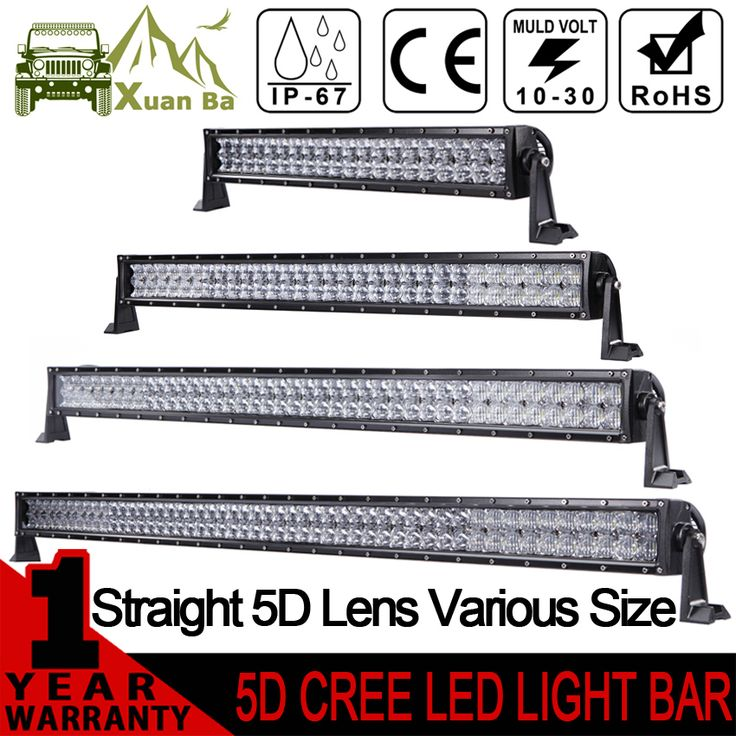 ==> [Free Shipping] Buy Best XuanBa 5D 52 Inch 500W LED Light Bar For 4x4 Off Road Trucks SUV ATV 4WD 12V 24V Combo 42 Inch 400W Led Work OffRoad Bar Lights Online with LOWEST Price | 32697855589