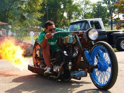 Rat Rod Bobber Motorcycles | Bobber 2010 Afterhours Rat Rod Chopper Bobber Parts From Honda Indian ...