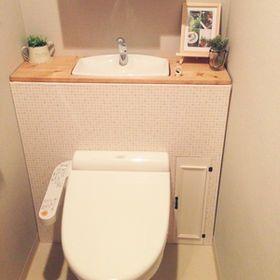 トイレタンクを隠すとお洒落になっちゃう♡みんなのDIYが素敵 - NAVER まとめ
