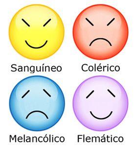 ... Los cuatro tipos de temperamentos.