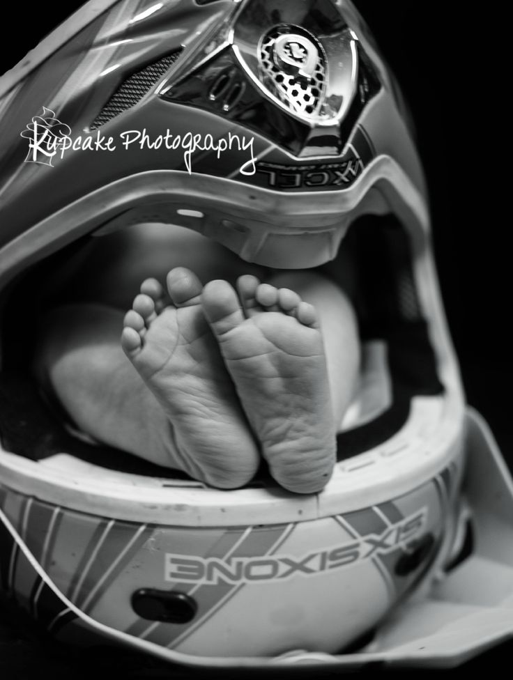 Newborn Motocross photo