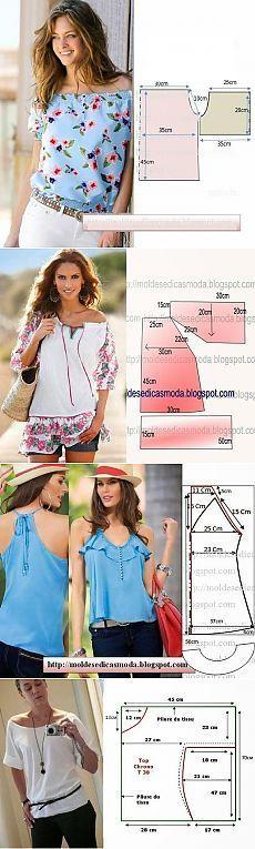 costurar blusa