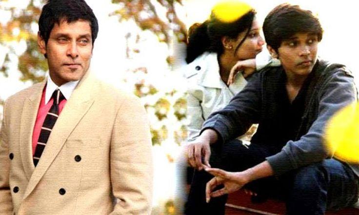 Vikram's son directed a short film Goodnight Charlie