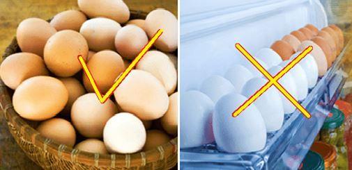 AVERTISSEMENT ! Il faut éviter de mettre les œufs dans la porte du réfrigérateur …voici pourquoi !