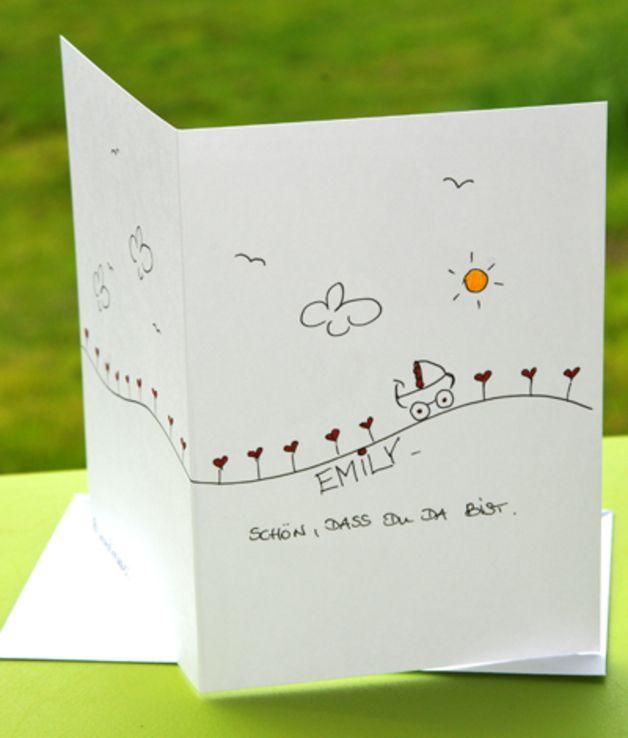 Baby- & Geburtskarten - süße Karten zur Geburt