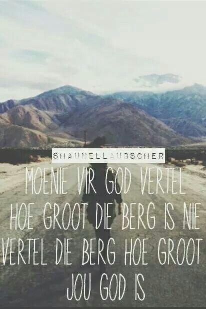 God is so sterk en Almagtig..♡