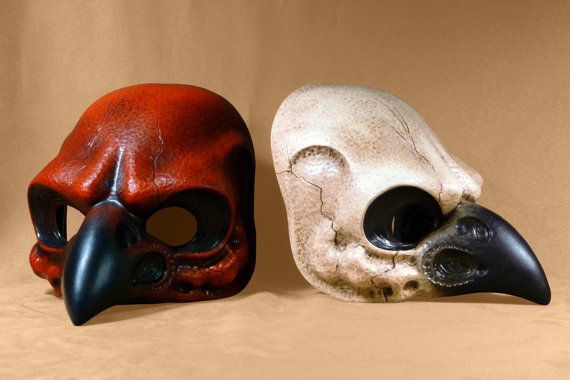 Hey, I found this really awesome Etsy listing at https://www.etsy.com/listing/157071196/bird-skull-mask
