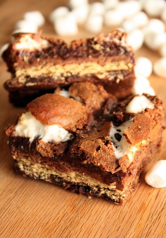 mores Brownies | Recipe