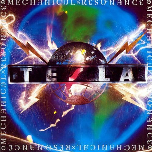 USED CASSETTE Released in 1986, Mechanical Resonance is the debut album by the American hard rock band Tesla. Geffen Records M5G 24120 Side 1: EZ Come EZ Go Cumin' Atcha Live Gettin' Better 2 Late 4 L