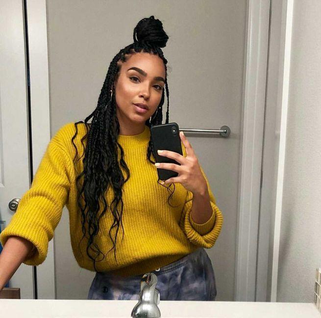braid hairstyles for black women With Weave #braidedhairstyles – Amazing tutor…