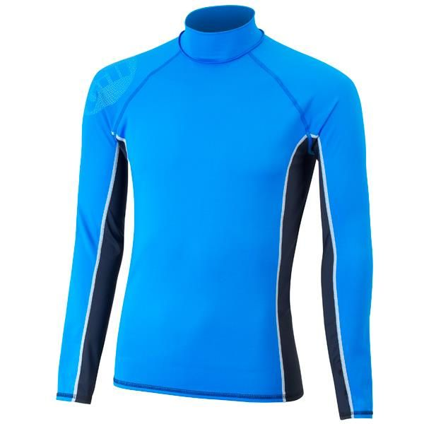 Gill Junior Pro Long Sleeve Rash Vest is constructed using flat locked seams throughout to reduce chaffing and abrasion. Available in Blue or Red in sizes JS-JL. #gill #sailing #sailingclothing #juniorsailing