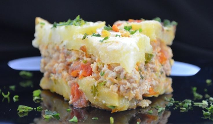 Reteta culinara Musaca de cartofi din categoria Mancaruri cu carne. Cum sa faci Musaca de cartofi