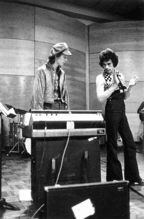 US Tour Rehearsals in RCA Studios, NY, 4th February 1973 - photo by Sukita
