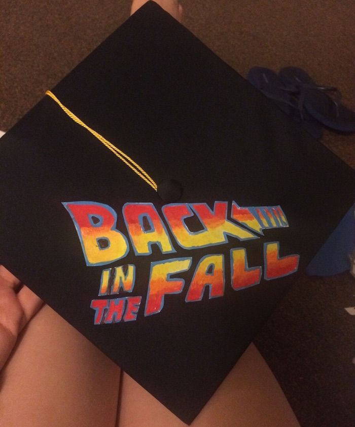 22 of the nerdiest, most elaborate, and funniest graduation caps ever made. | Graduation | Someecards