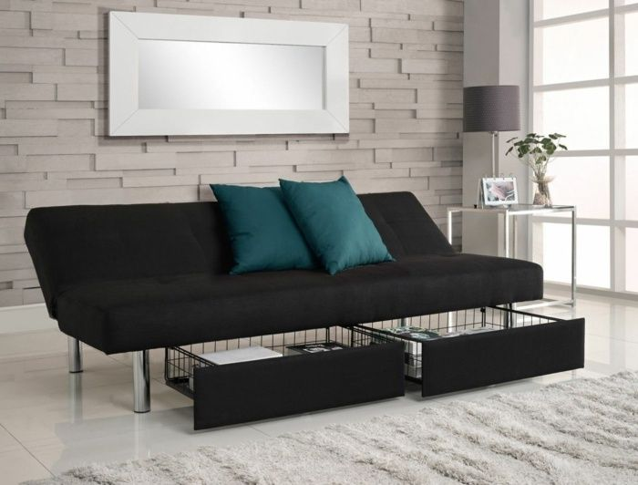 po et n padov na t mu schlafsofa mit bettkasten na. Black Bedroom Furniture Sets. Home Design Ideas
