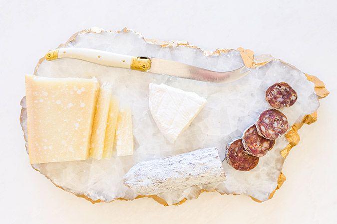 Gilded Edge Marble Slab Tray DIY on LaurenConrad.com