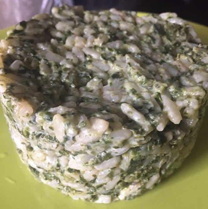 Risotto épinards au Cookeo