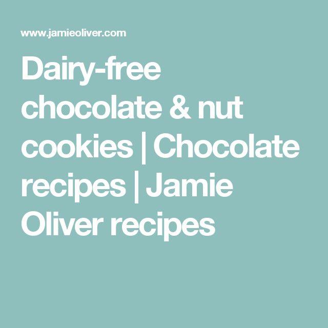 Dairy-free chocolate & nut cookies | Chocolate recipes | Jamie Oliver recipes