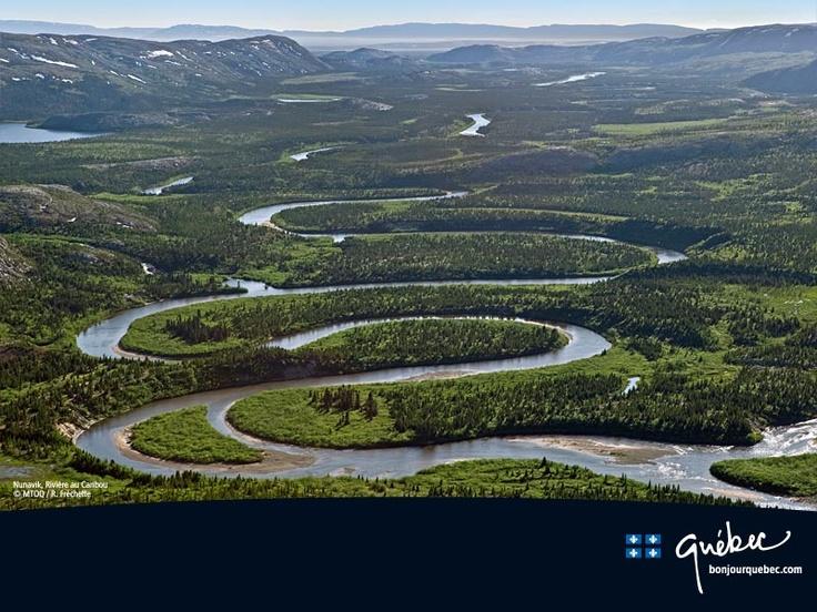 Rivière au Caribou, Nunavik, Québec