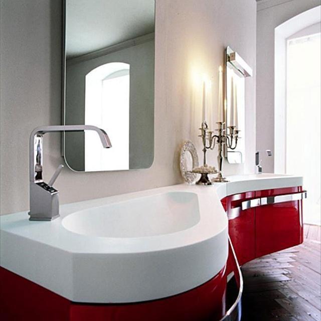 Мебель для ванных #birex #red #мебель #итальянская_мебель #bathroom #furniture #идеал_интерьер #ideal_interier #арбат