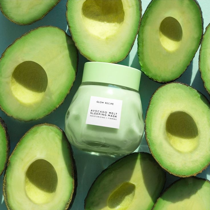 Avocado Melt Sleeping Mask – K-Beauty Made by Glow Recipe