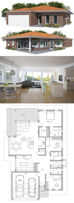 1000 idee su planimetrie di case su pinterest piantine. Black Bedroom Furniture Sets. Home Design Ideas