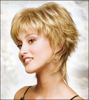 Short Shaggy Hairstyles For Women 2015 on Pinterest