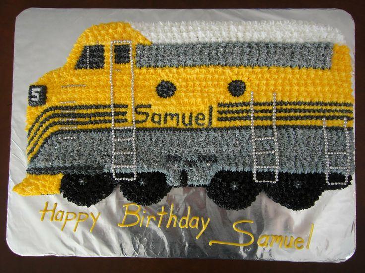 Diesel Train Cake