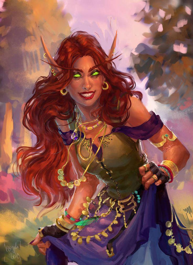 Commission 2k19 xii by kaiyela on deviantart warcraft