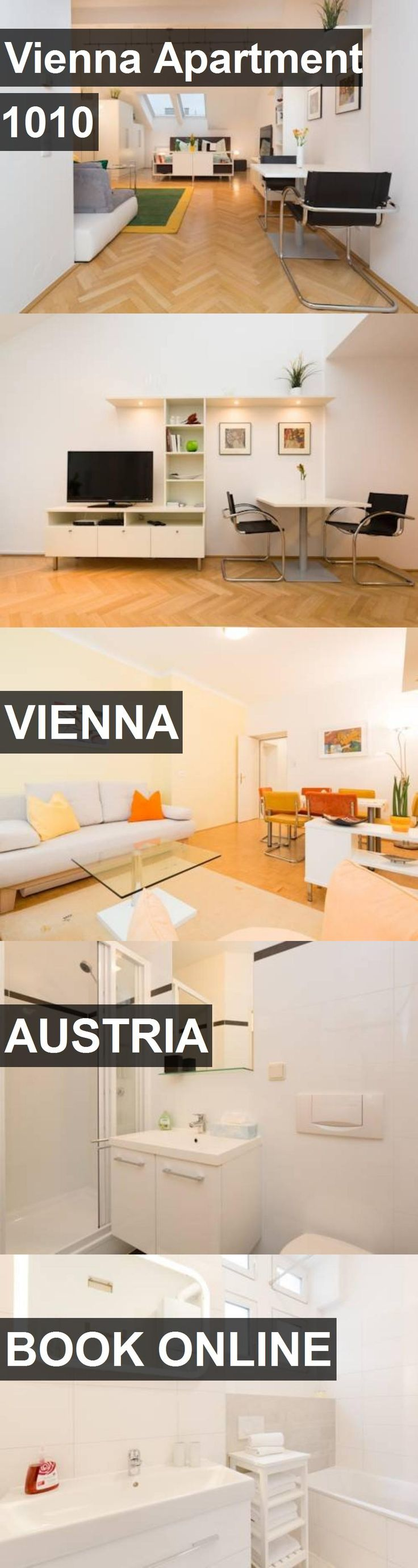 Hotel Vienna Apartment 1010 in Vienna, Austria. For more information, photos, reviews and best prices please follow the link. #Austria #Vienna #ViennaApartment1010 #hotel #travel #vacation