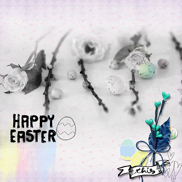 Happy Easter (Word art) by Little Butterfly Wings   http://the-lilypad.com/store/Happy-Easter-Word-art.html    Hoppy Easter {kit} by Little Butterfly Wings  http://the-lilypad.com/store/Hoppy-Easter-kit.html