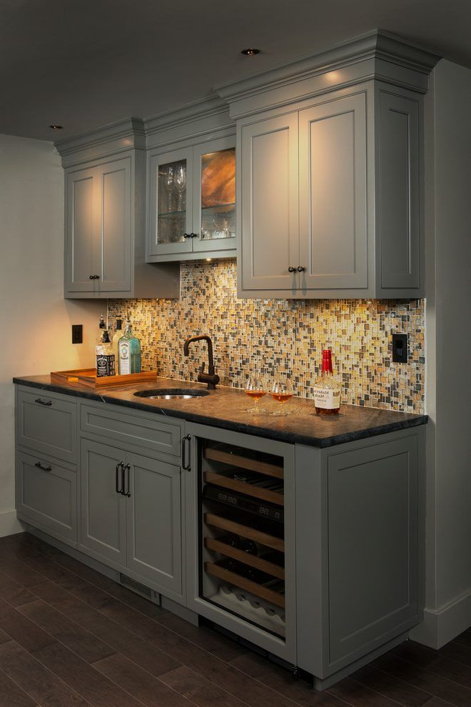 Best 25 wet bar basement ideas on pinterest wet bars - Basement wet bar design ...