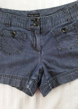 Buy my item on #vinted http://www.vinted.com/womens-clothing/short-shorts/20560350-new-york-and-company-chino-style-denim-shorts