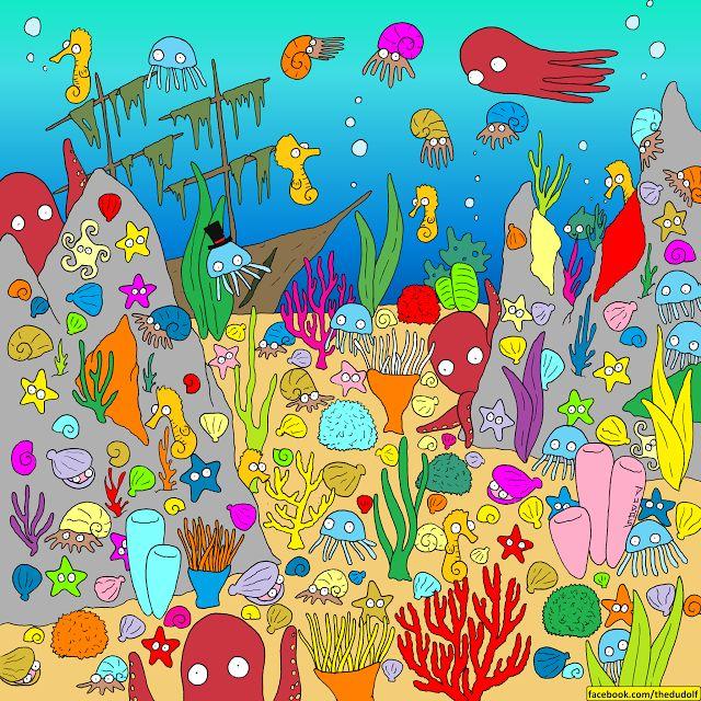 Dudolf óceános képrejtvénye   Forrás: http://thedudolf.blogspot.hu - PROAKTIVdirekt Életmód magazin és hírek - proaktivdirekt.com